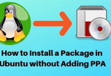 Ubuntu Packages, Install Ubuntu Packages