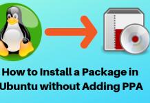 Ubuntu Packages, Install Ubuntu Packages